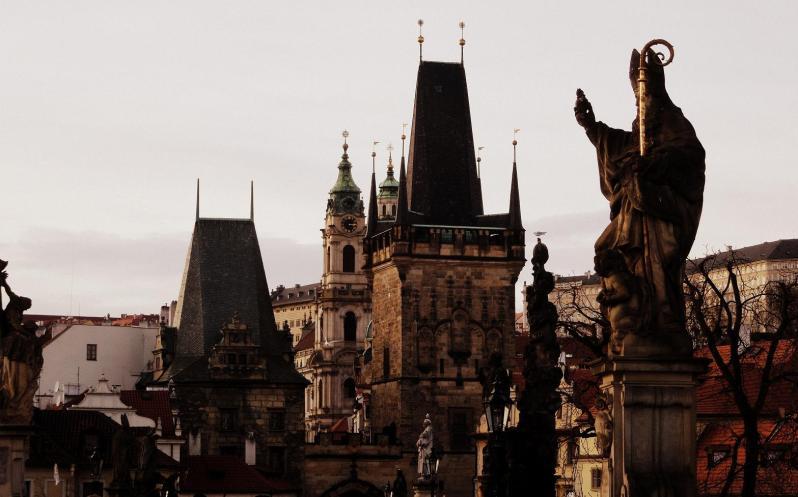 Die Dächer von Prag
