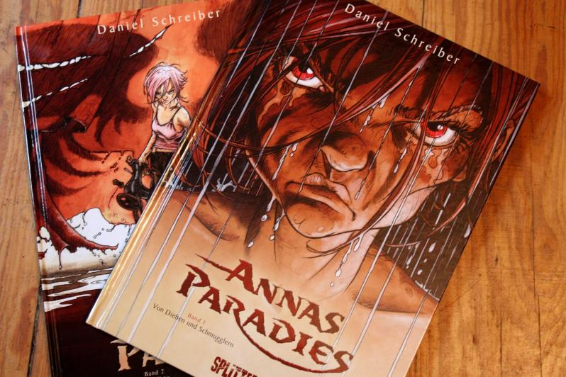 Annas Paradies Cover Band 1 und 2
