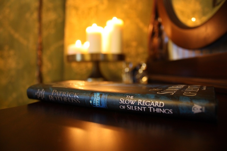 Buchcover The Slow Regard of Silent Things