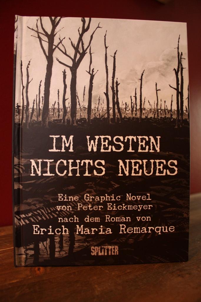 Cover der Graphic Novel Im Westen nichts Neues