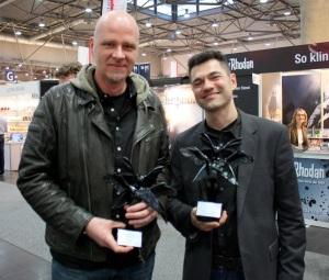 Die Preisträger des Literaturwettbewerbs der Phantastischen Akademie 2015.