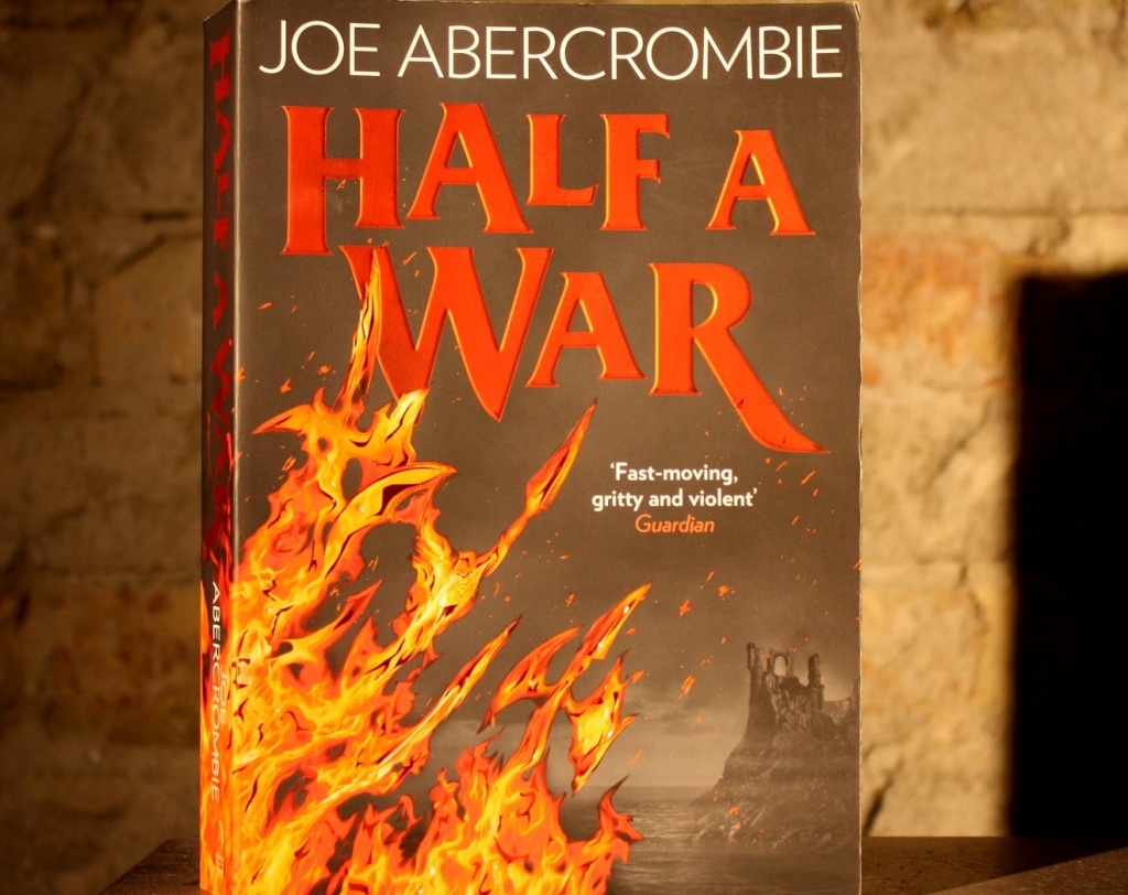 Cover des Romans Half a War