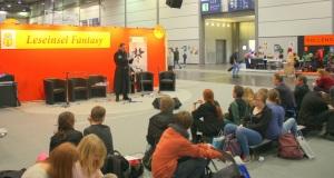 Fantasy Leseinsel auf der Leipziger Buchmesse