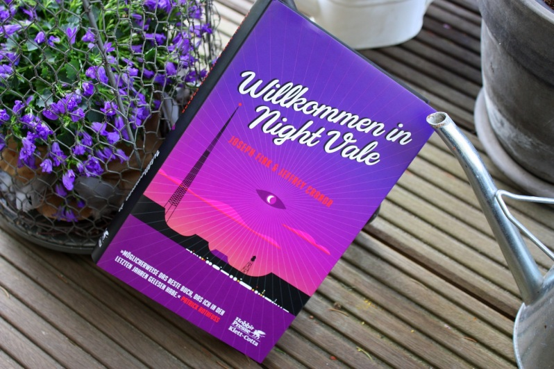 Cover des Romans Willkommen in Night Vale