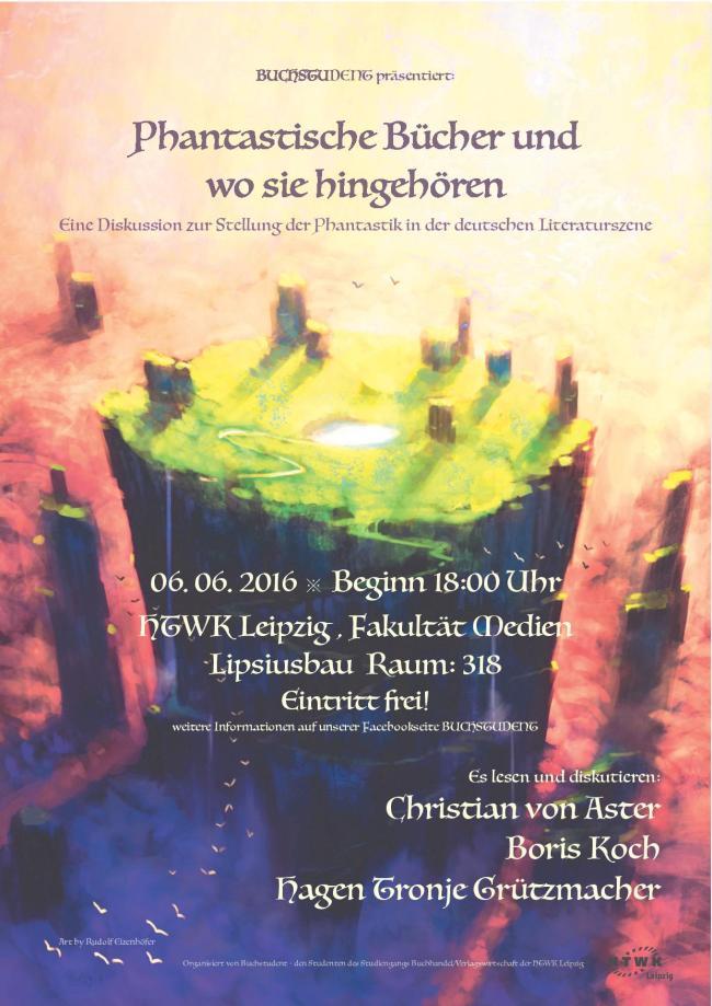 Fantasy-Literaturgespräch in Leipzig