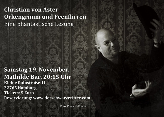 Lesung Christian von Aster in Hamburg