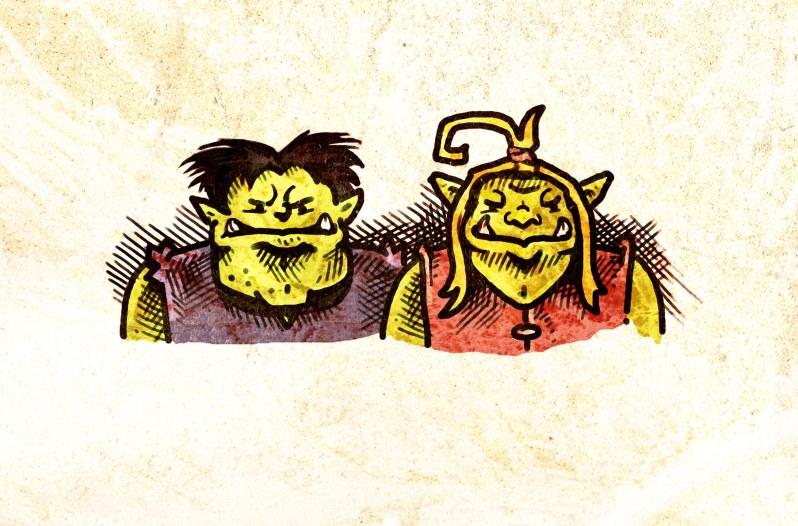 Horrk und Grablakk